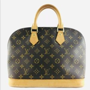 💕🌺💕Authentic Louis Vuitton Alma PM Monogram